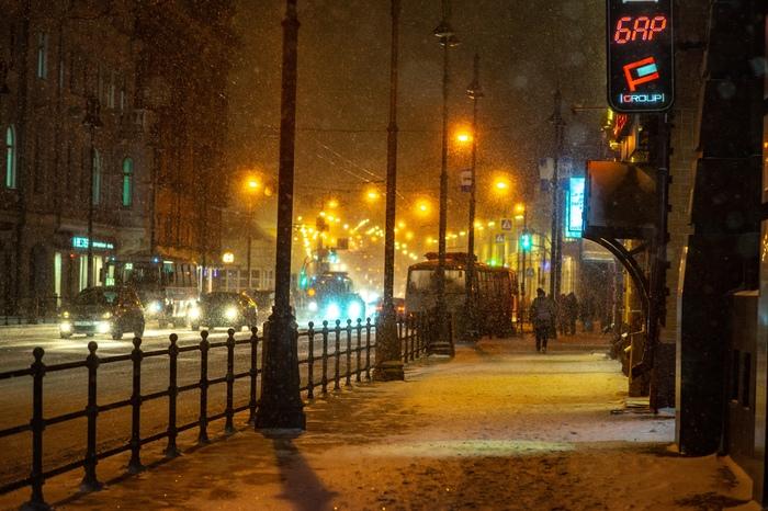 Еще снежный Томск Томск, Фотография, Снегопад, Город, Длиннопост