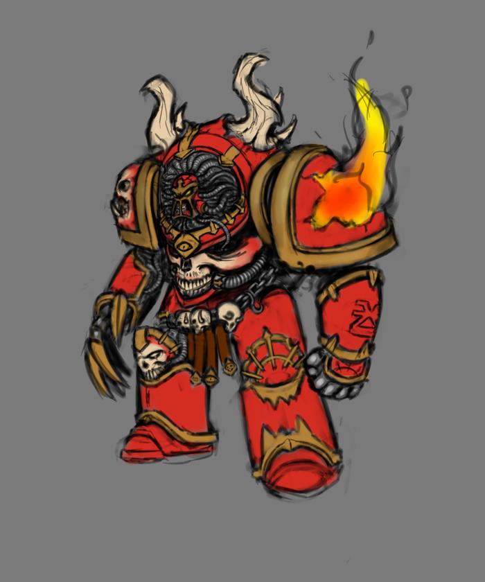 Немного хаоситов.. Warhammer 40k, Nurglite, Хаоситы, Вархаммер Хаос