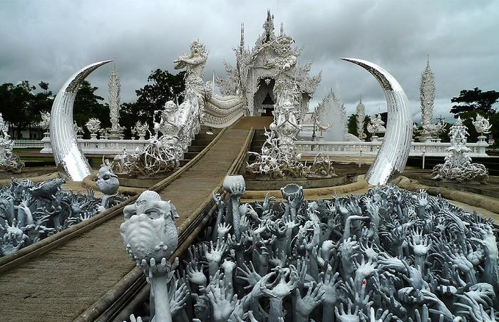 Невероятные архитектурные сооружения (часть 1) Архитектура, Храм, Буддизм, Постройки, Длиннопост, Таиланд