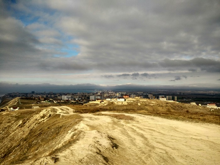В Анапе сегодня были горы Анапа, Горы, Фотография, Облака