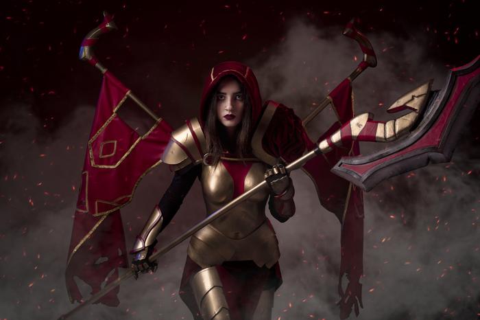 Dota 2 Cosplay (Legion Commander) Dota 2, Legion Commander, Valve, Косплей, Dota, Длиннопост