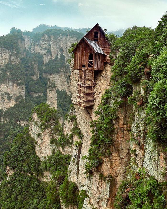 Домик в горах (Фейк) Горы, Природа, Уединение, Дом, Фейк