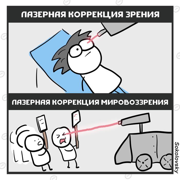 Росгвардия закупила лазерные излучатели для разгона митингов Новости, Sokolovsky!, Митинг, Росгвардия, Лазер