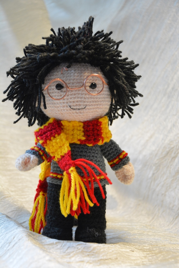 Гарри Поттер Рукоделие без процесса, Амигуруми, Вязание крючком, Своими руками, Рукоделие, Гарри Поттер
