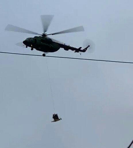 Вертолет с людьми над Кремлем Новости, Спецоперация, Видео