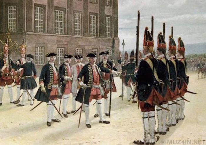 Загадочная прусская армия великанов Познавательно, Армия, Факты, История, Странности, Интересное, Пруссия, Длиннопост