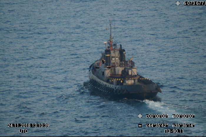 ФСБ опубликовала фотографии с нарушившими территориальные воды РФ украинскими кораблями Территориальные воды, Украинская армия, Длиннопост, Украина