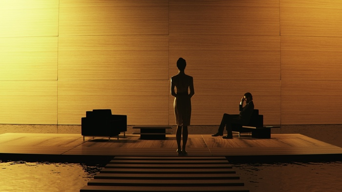 Blade Runner 2049. Luv & Niander Wallace - Cosplay. Косплей, Бегущий по лезвию 2049, Фотография, Русский косплей, Киберпанк, Неонуар, Длиннопост