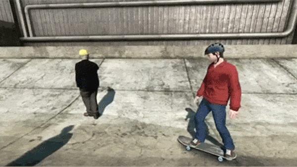 Skate 3 как отдельный вид искусства Skate 3, Компьютерные игры, Игры, Баг, Glitch, Игровой юмор, Гифка, Длиннопост
