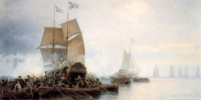 4 триумфа русской морской пехоты Длиннопост, История, Война, Морская пехота, Оружие