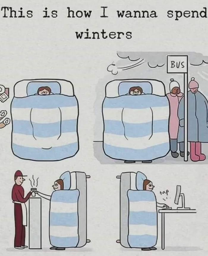 Как я хочу провести зиму