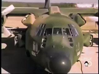 Разгонно-тормозная реактивная система для сокращения разбега\пробега самолетов Самолет, Реактивный двигатель, Технологии, Гифка, Длиннопост