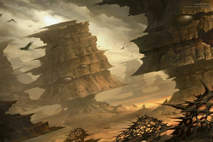 Искусство на картах: Рэймонд Сванленд Magic: The Gathering, Арт, Иллюстрации, Длиннопост