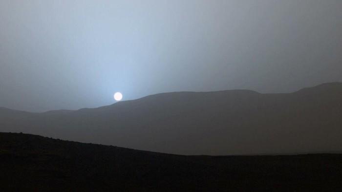 Мы первые люди увидевшие закат на Марсе Марс, Закат, Солнце, Фотография, Космос, NASA, Reddit, Марсоход