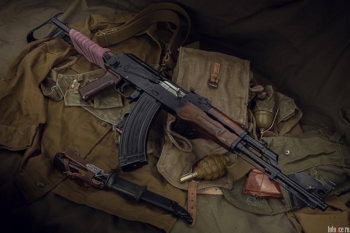 Фотосессия - АКМС Акмс, Калашников, Оружие, Автомат, СССР, Длиннопост