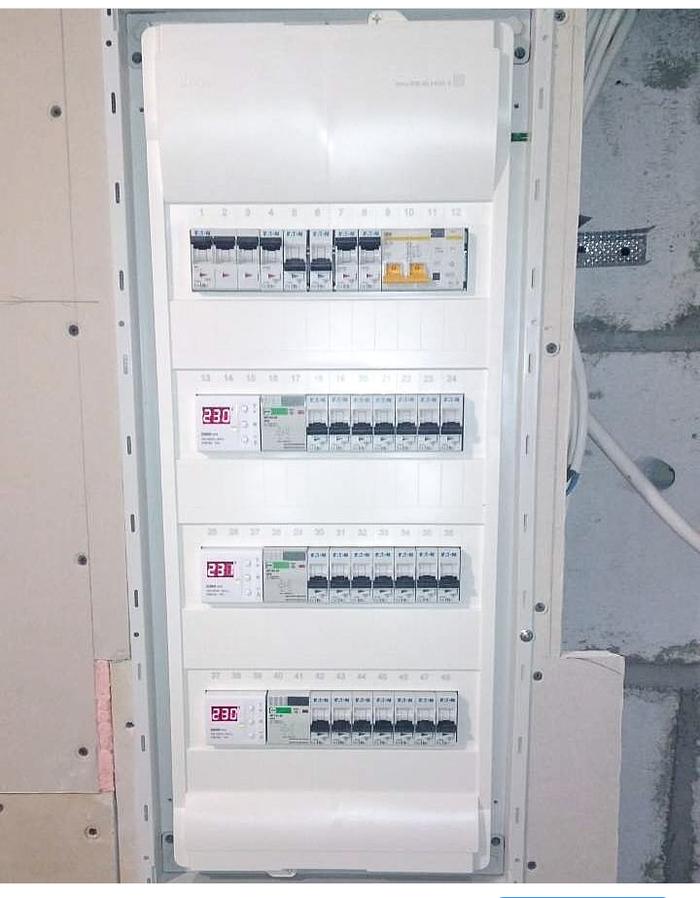Квартира-мансарда. Пост 8. Электрика Длиннопост, Ремонт, Электричество, Мансарда, Щиток