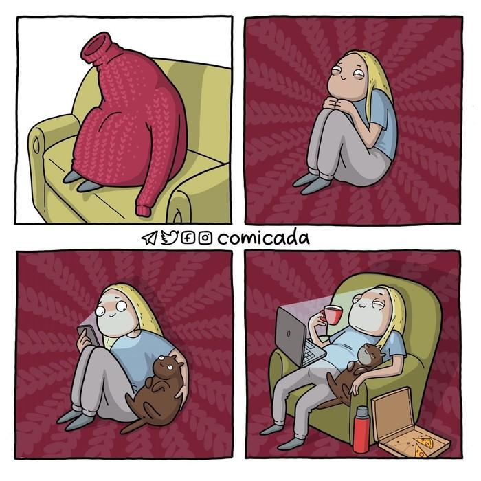 Я уеду жить в свитер