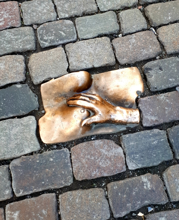 Брусчатка с намёком Амстердам, Брусчатка, Интересный фрагмент