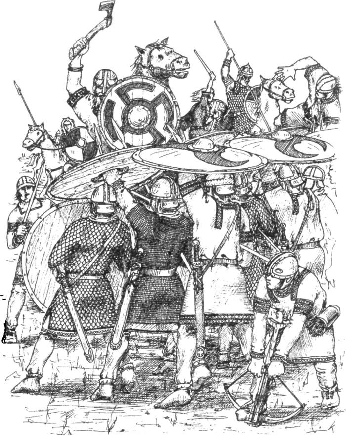 Противники Поздней Римской империи. Часть 1 История, Античность, Римская империя, Германцы, Длиннопост