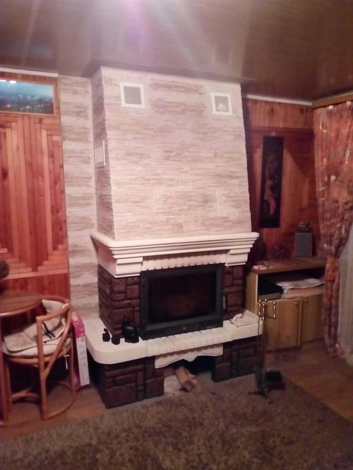 Как построить современный камин в старом доме
