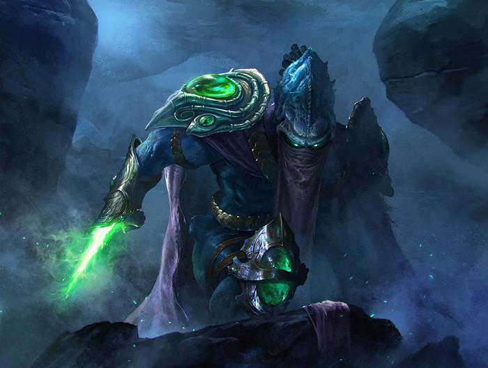 Zeratul by Fang Zheng Zeratul, Starcraft, Blizzard, Starcraft 2, Artstation, Coub