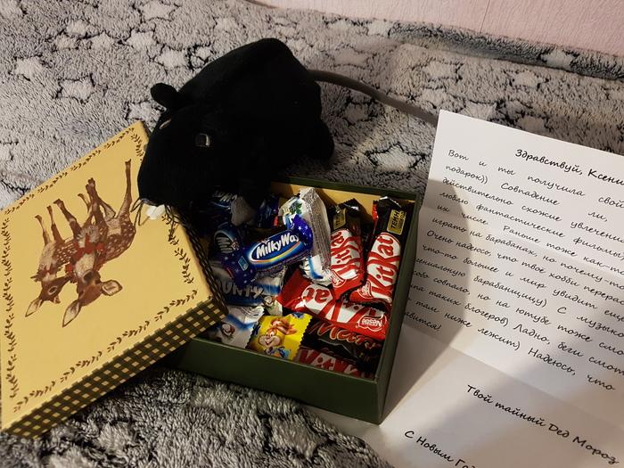 Неверотный Тайный Санта :) Тайный Санта, Отчет по обмену подарками, Длиннопост, Обмен подарками, Посылка, Новый Год