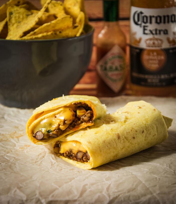 Простецкий буррито Еда, Рецепт, Мясо, Буррито, Мексика, Вкусно, Сыр, Dinoburger, Длиннопост