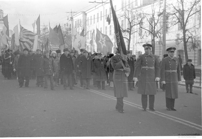 Демонстрация 07.11.1987, Владимир Владимир, СССР, Демонстрация, 1987, Lostslides, Длиннопост
