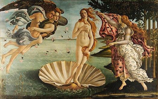 Рождение Венеры Венера, Боттичелли, Уран, Кронос, Афродита