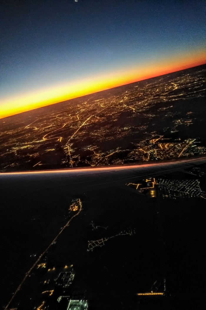 Рассвет в Шереметьево Фотография, Рассвет, Самолет, Шереметьево, Москва, Длиннопост