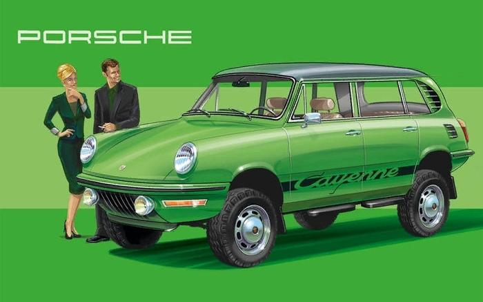 Если бы НЕ только Porshe сделали в 1972 г. Авто, Киберпанк, А что если, Длиннопост