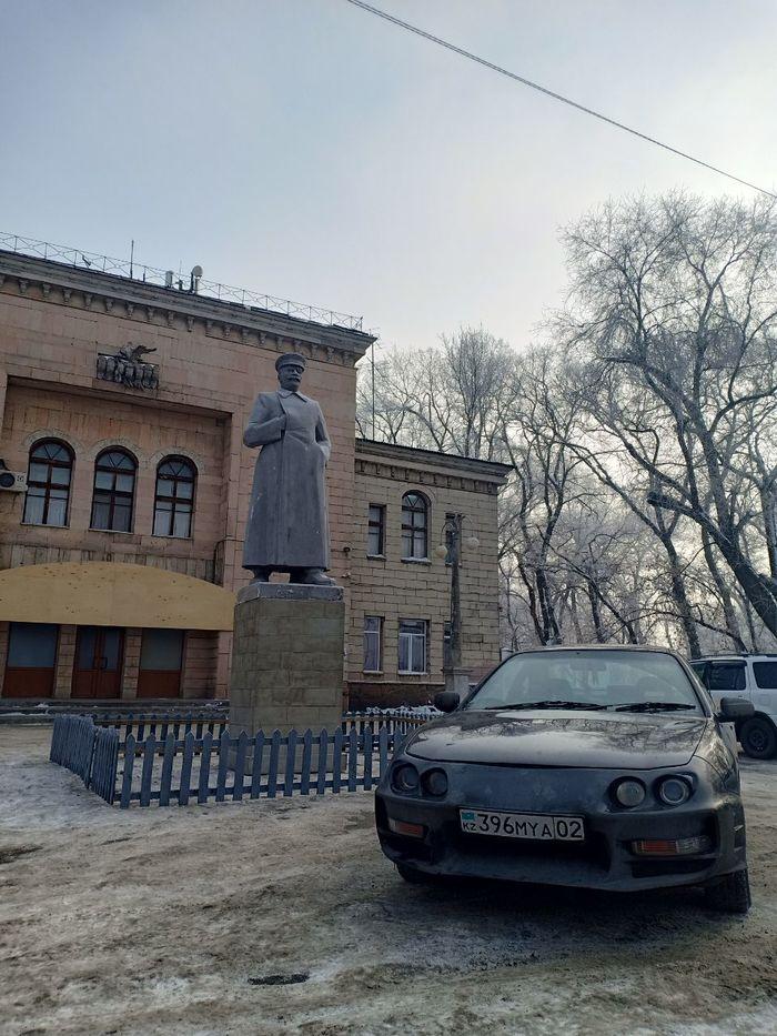 Добро пожаловать тов.Сталин Сталин, Казахстан, Алматы, СССР