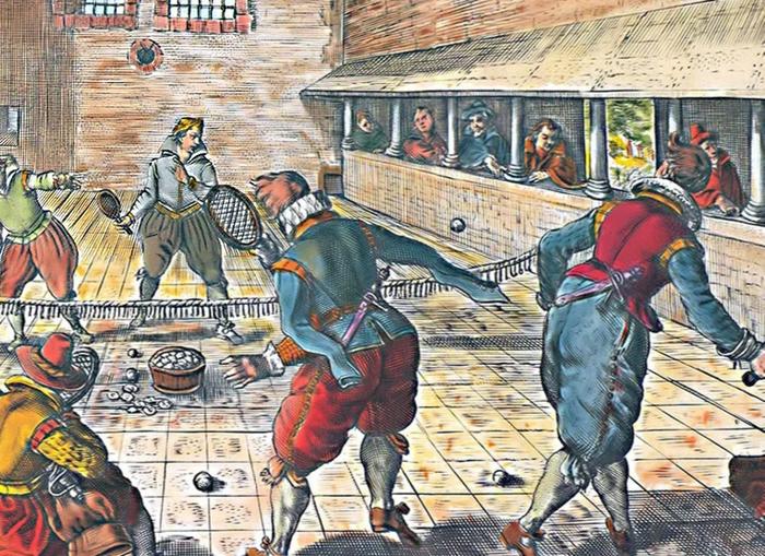 Jeu de Paume или не только шпаги... Лига историков, Жё де пом, Игра в мяч, Теннис, Франция, Длиннопост