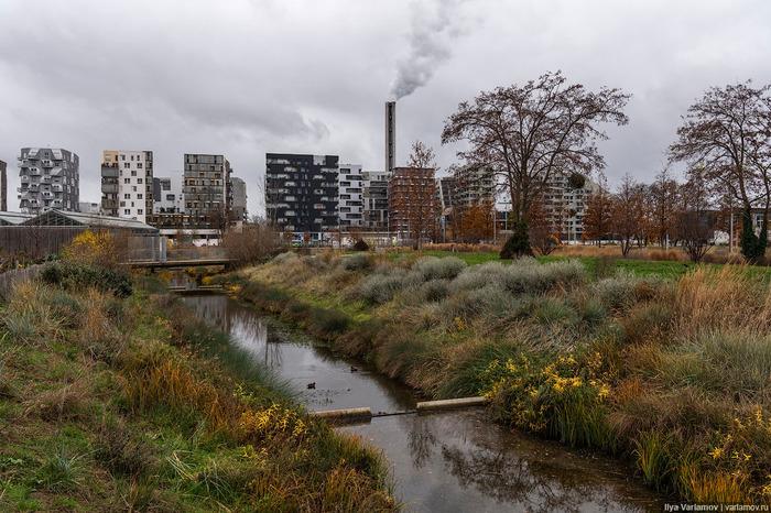 Как строят жилье в Париже Париж, Городс, Архитектура, Городская среда, Благоустройство, Длиннопост