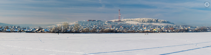 Зимние панорамы поселка, в котором я живу. Зимний лес, Фотография, Пейзаж, Ab87, Панорама, Арти, Артинский район, Длиннопост