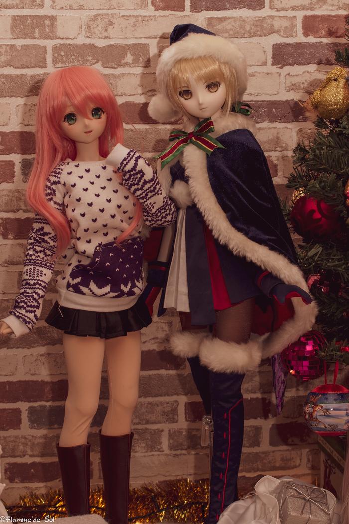DollfieDream: иногда они собираются вместе - 2 DollfieDream, Шарнирная кукла, Фотография, Хобби, Аниме, Длиннопост