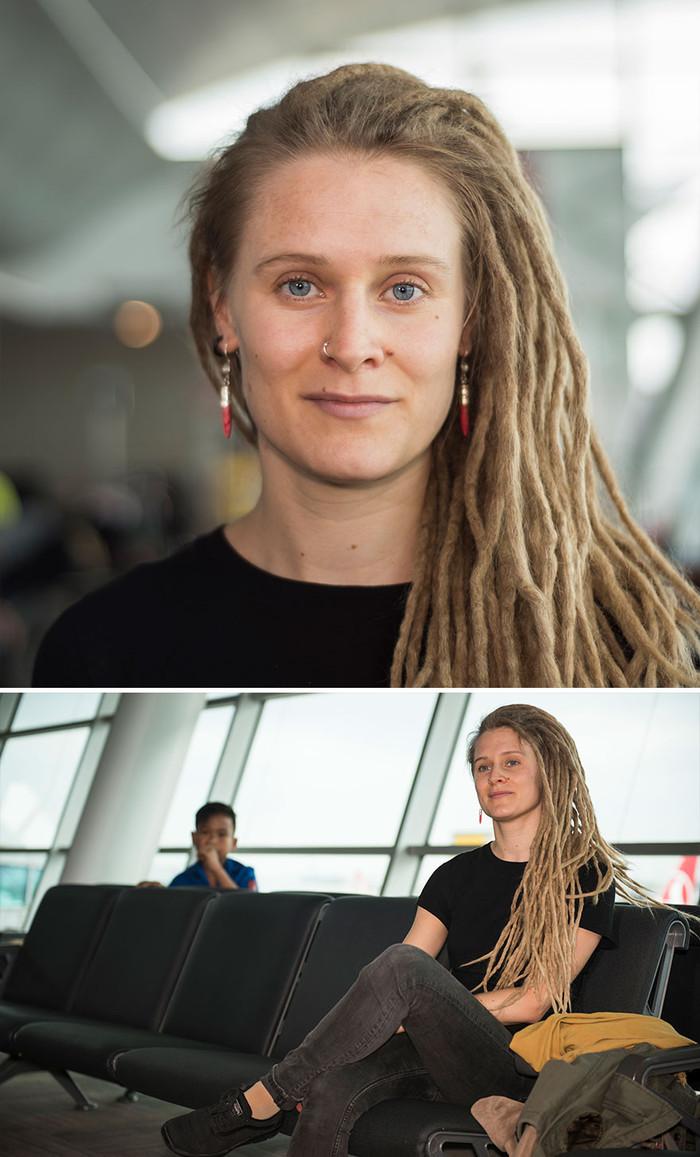 Я работаю в аэропорту и фотографирую уникальных людей со всего мира Фотография, Фотограф, Длиннопост