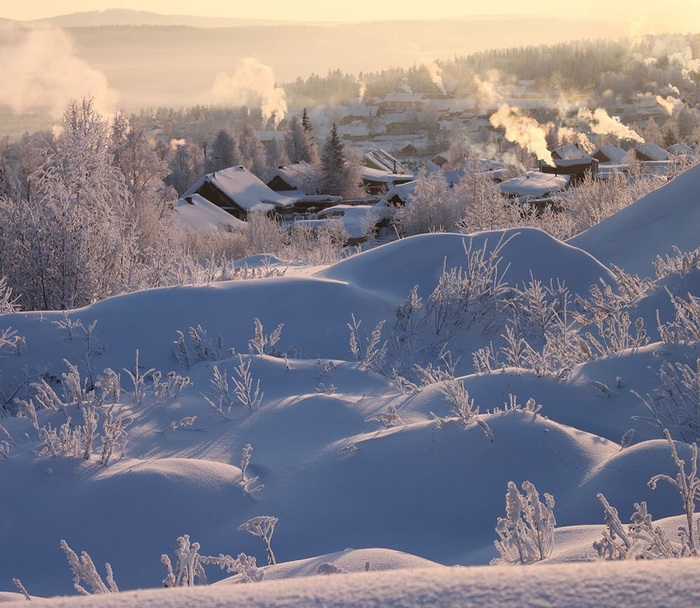 Зима в глубинке