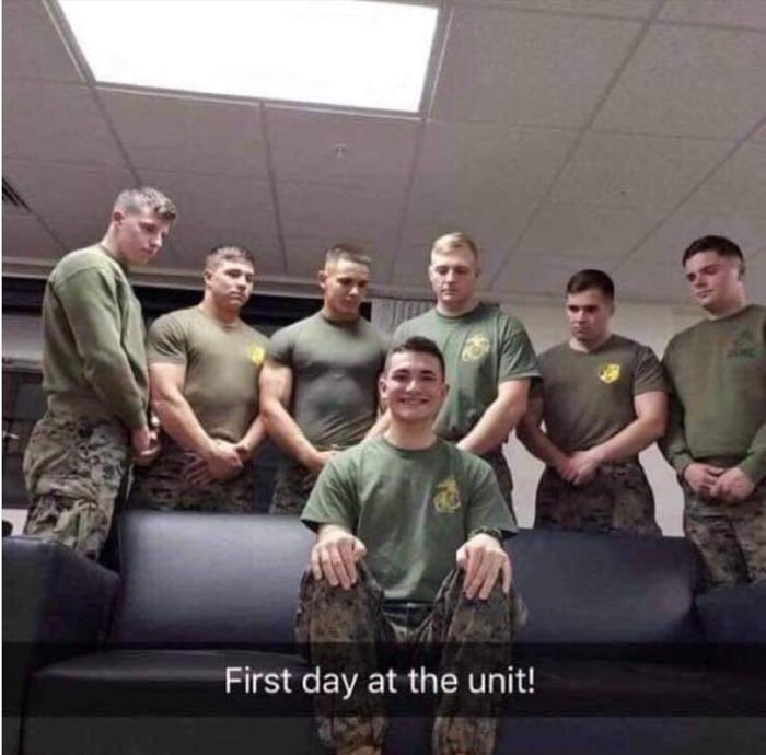 Первый день в отряде!