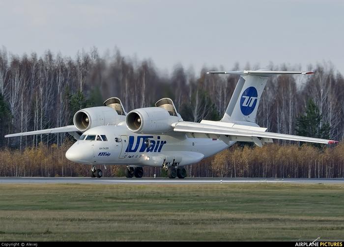 Прям необъяснимое-невероятное случилось на днях с этим самолетом Авиация, Гражданская авиация, Ан-74, UTair