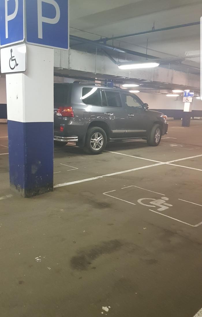 Когда ты четырехкратный инвалид... Парковка, Я паркуюсь как молодец, Длиннопост