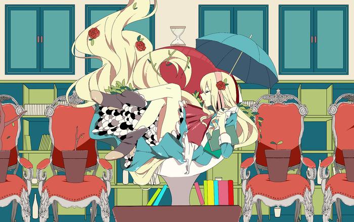 """""""Знаешь что? Аниме, Не аниме, Anime Art, Kagerou Project, Mekakucity actors, Kozakura mary, Pixiv"""