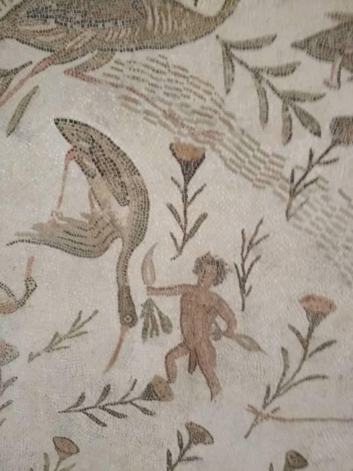 Римский пикабушник в Тунисе. Тунис, Пикабушники, Африка, Мозаика, Длиннопост