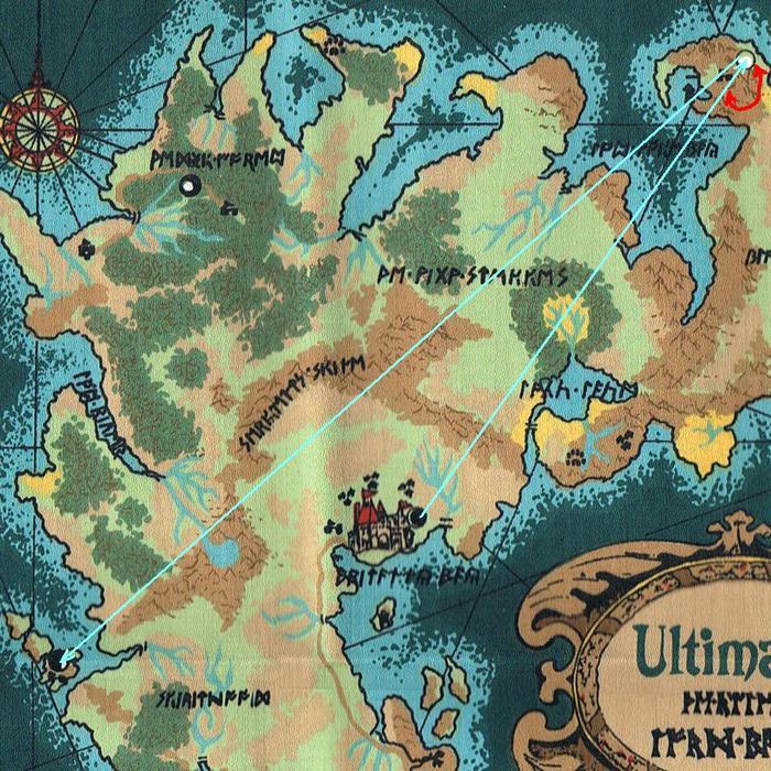 Ultima V: Warriors of Destiny. Часть 2.Вокруг света 80 раз. 1988, Прохождение, Ultima, Компьютерные игры, Ретро-Игры, Открытый мир, Origin, Apple II, Длиннопост