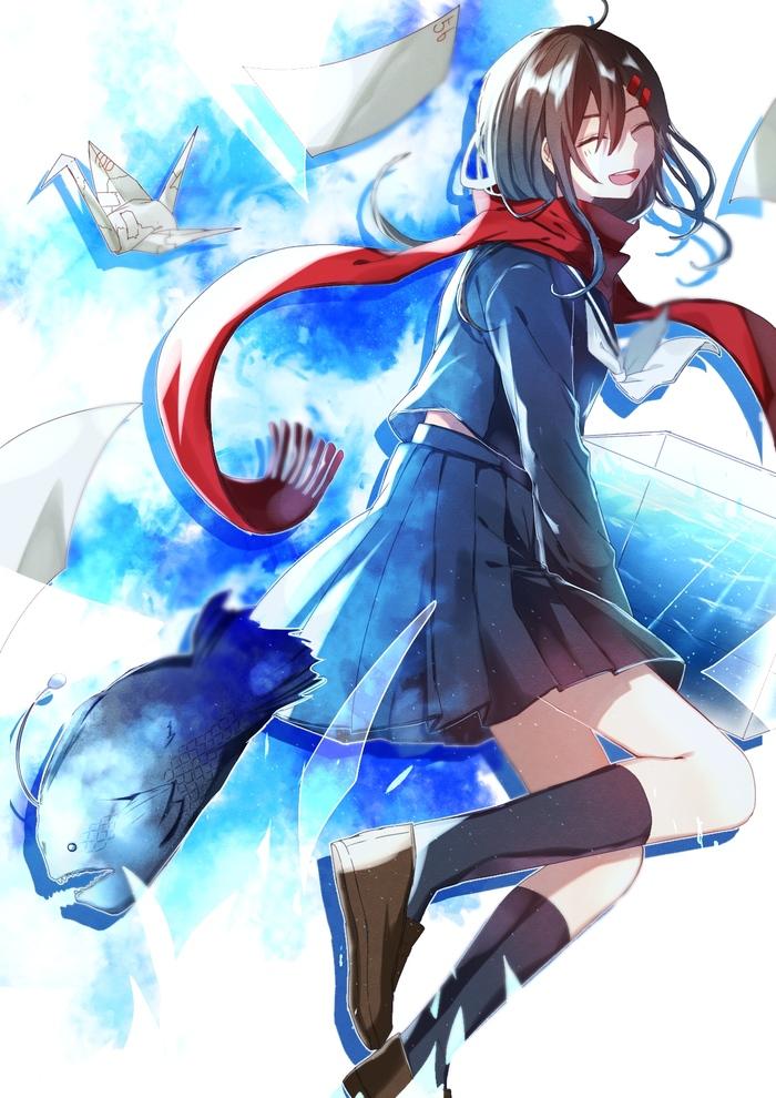 Kagerou Project Аниме, Не аниме, Anime Art, Kagerou Project, Mekakucity actors, Mekakushi Dan, Длиннопост