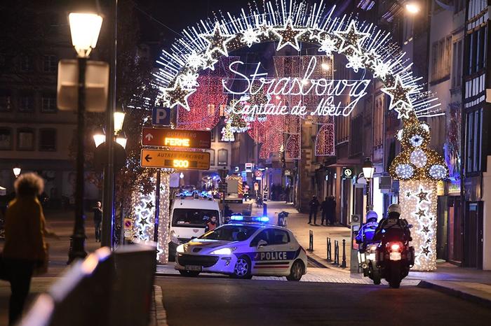 """""""Желтые жилеты"""" назвали теракт в Страсбурге инсценировкой Новости, Франция, Желтые жилеты, Страсбург, Протест, Теракт, Стрельба"""