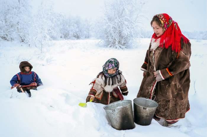 Зима Зима, Дети, Россия, Фотография
