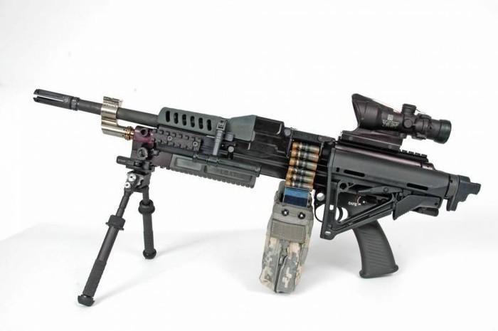 Анонсирован прототип новейшей американской штурмовой «сверхвинтовки» Винтовка, Пулемёт, США
