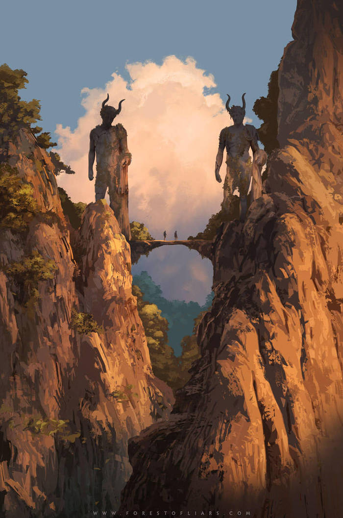 The Horned Twins Арт, Forest of Liars, Tohad