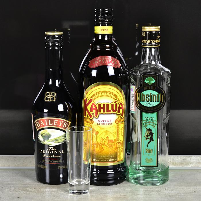 """Коктейль-шот """"Б-55"""" Алкоголь, Коктейль, Бар, Рецепт, Шот, б-55, Длиннопост"""